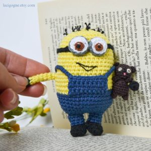 yellow monster crochet pattern, amigurumi yellow monster