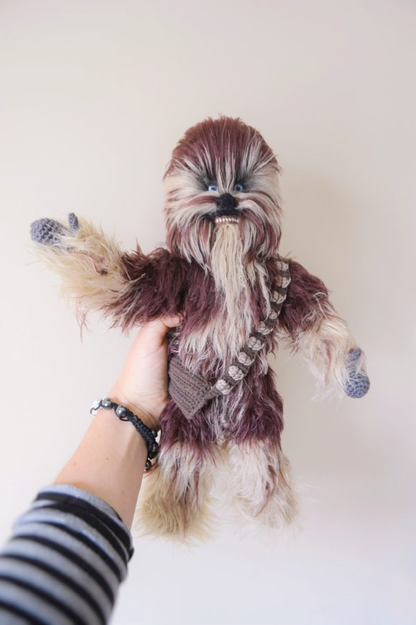 Chewbacca crochet pattern toyAmigurumi Chewbacca will be a perfect gift for a person who loves Galactic heroes and it is a lovely gift for Star Wars fans!