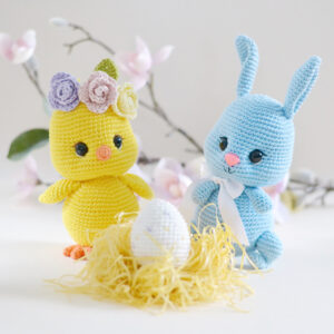 bunny and chick crochet pattern