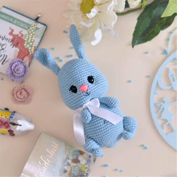 Amigurumi bunny toy