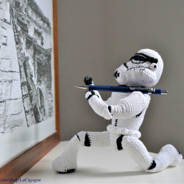 Stormtrooper crochet pattern