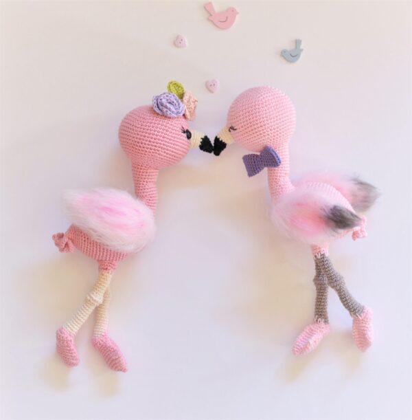 flamingo crochet pattern