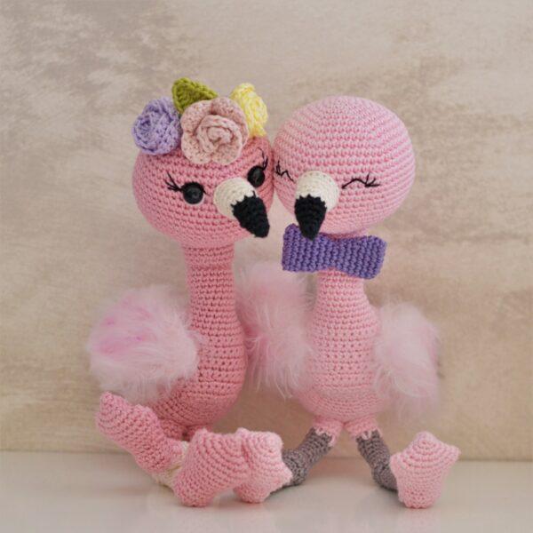 Flamingo crochet pattern , flamingo ursery decor , flamingo baby toy , flamingo toddler toy , crochet flamingo toy