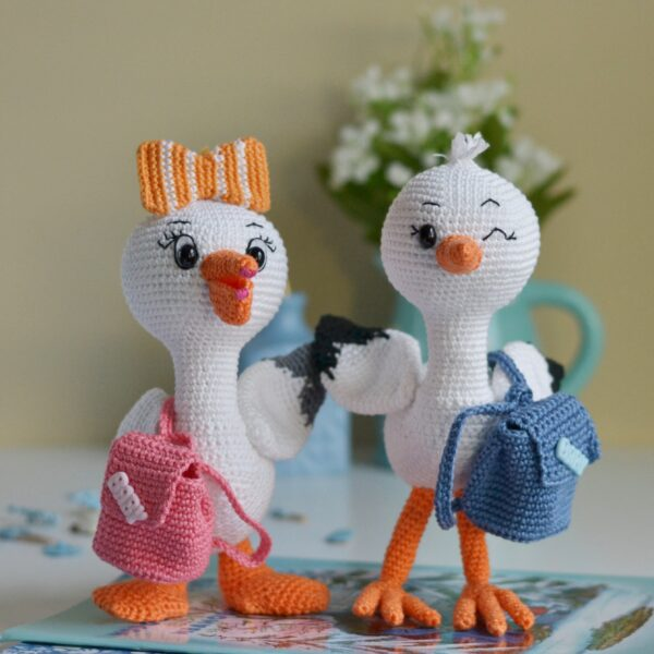 Pelican crochet pattern