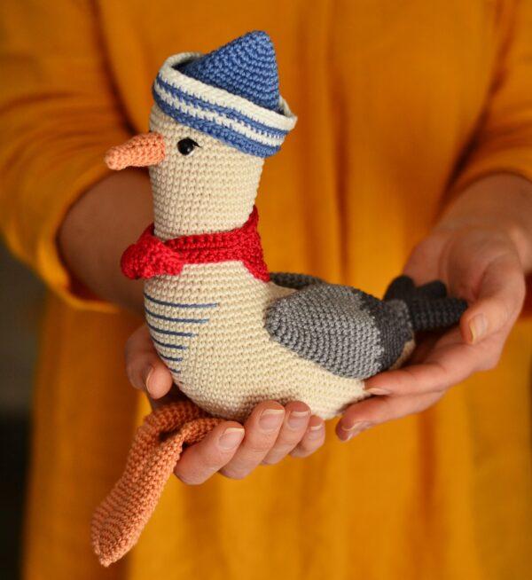 Mister Seagull crochet pattern