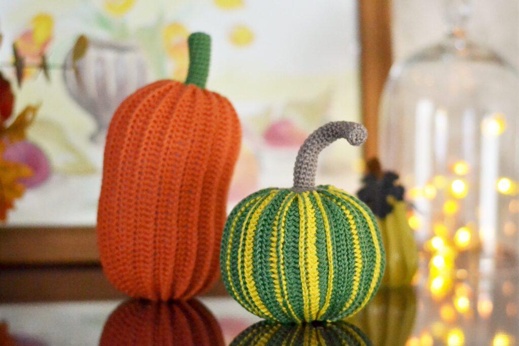 Green pumpkin free crochet pattern